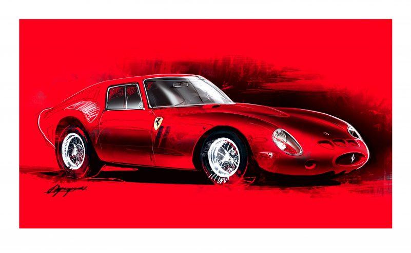 Ferrari-250-GTO-art