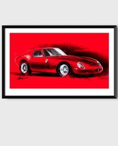 Ferrari-250-GTO-art_framed