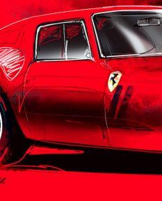 Ferrari-250-Gto-drawing_detail