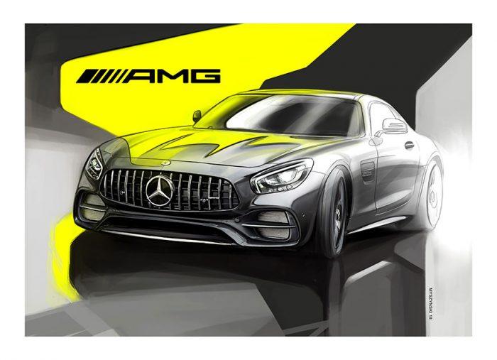 Mercedes-AMG GT poster