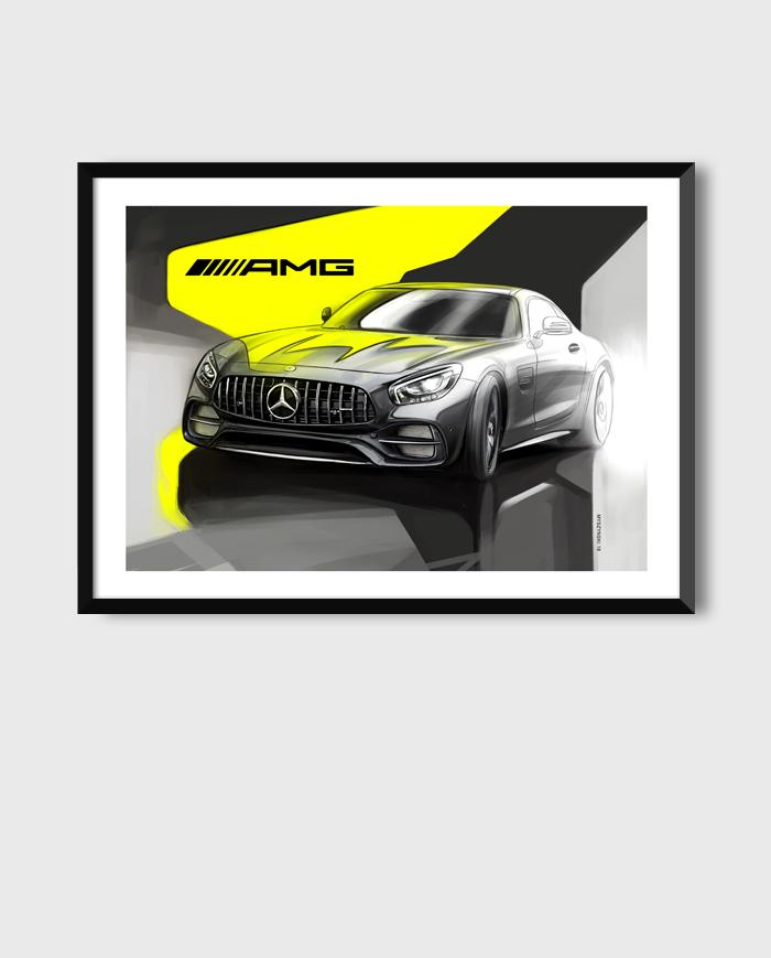 Mercedes-AMG GT art