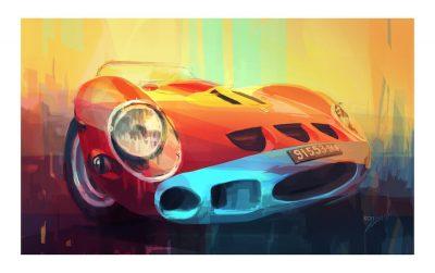 Ferrari 250 GTO_artwork