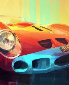 Ferrari-250GTO-art