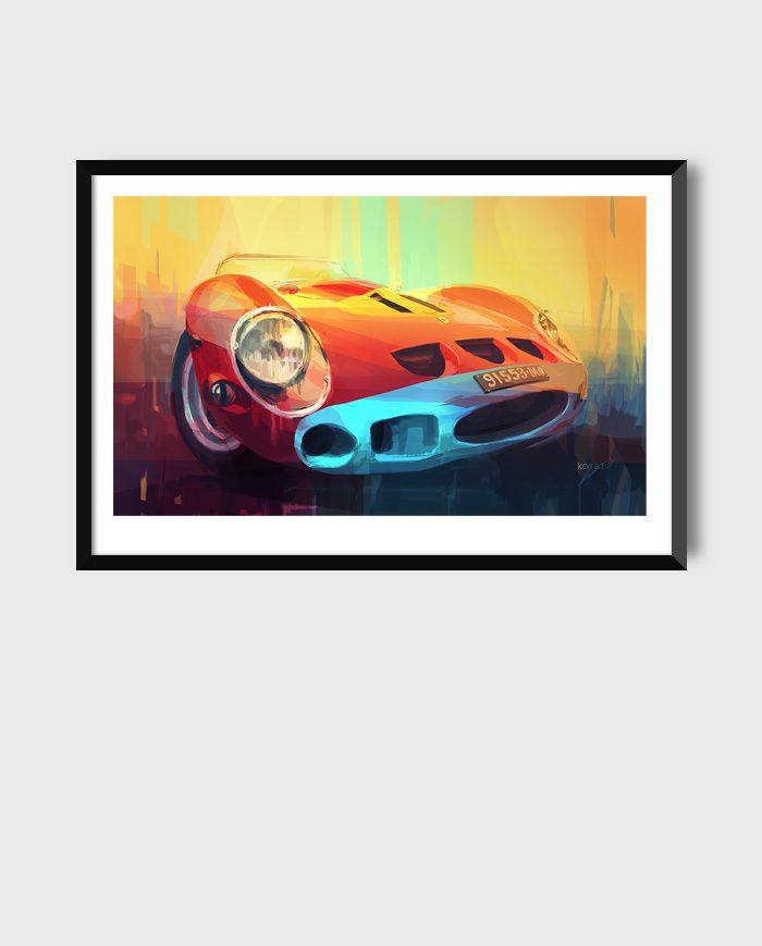 Ferrari 250 GTO #4399 art