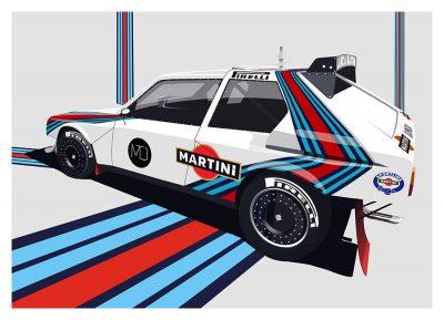 Lancia Delta S4 art