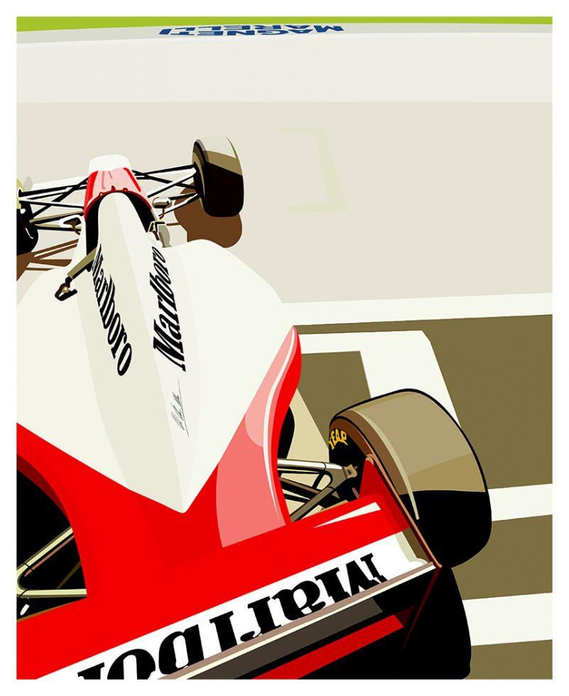 Marlboro F1 livery poster