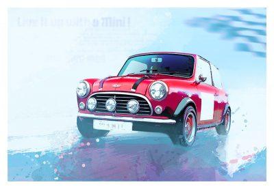 Mini Cooper S art