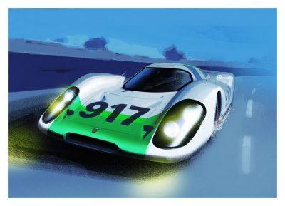 Porsche 917 #001 art