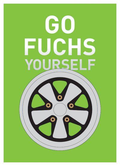Fuchs wheels poster